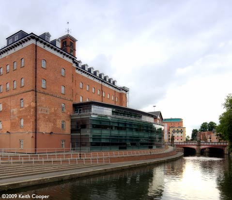 land registry and canal Leicester