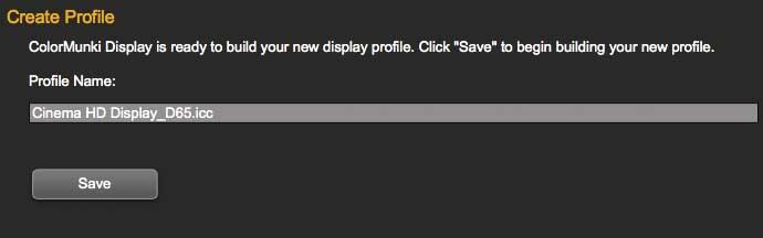 saving icc monitor profile