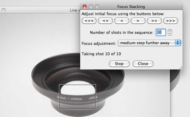 focus stacking options