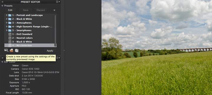 creating custom presets