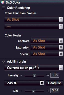 colour settings