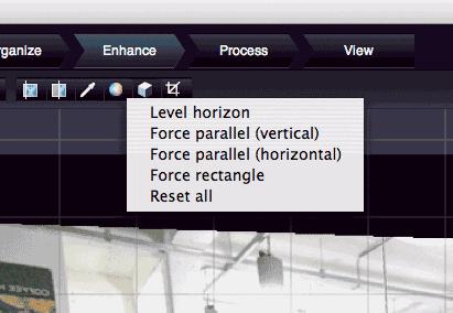 preset geometry changes