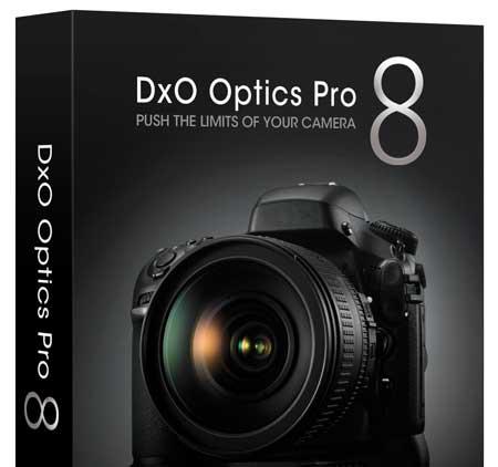 New version of Dxo optics pro V8