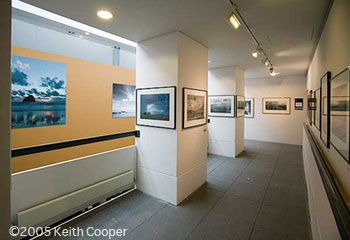 Keith's pictures at an exhibition