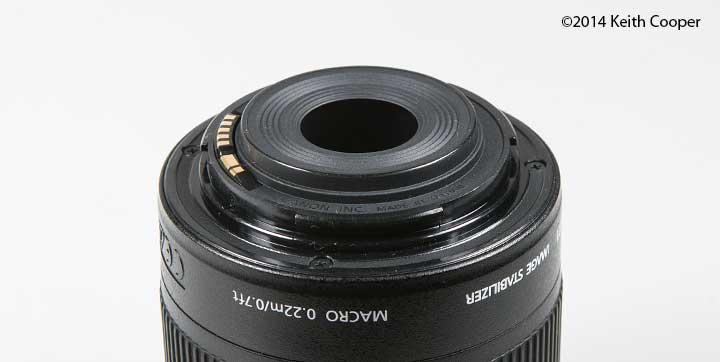 lens mount details