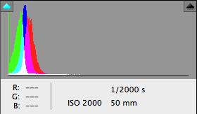 2000 ISO - EOS 7D