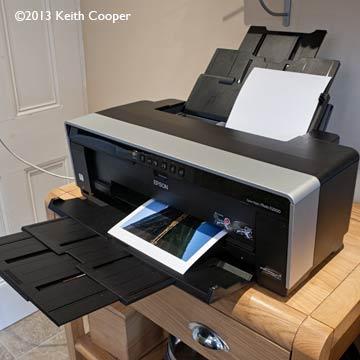 during printing