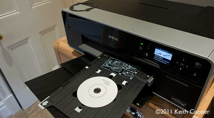 cd printing with epson r3000