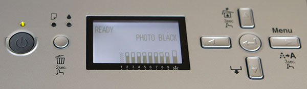 sp3800 fron panel