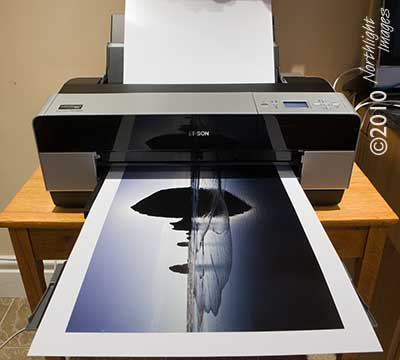 A2 sized print from the Epson 3880
