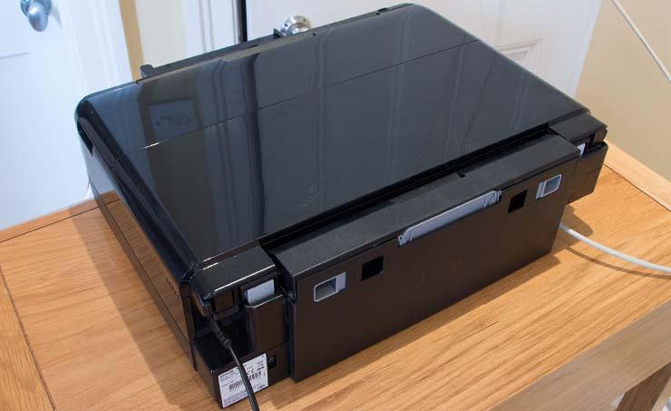 rear paper unit