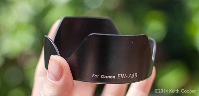 EW-73B lens hood style