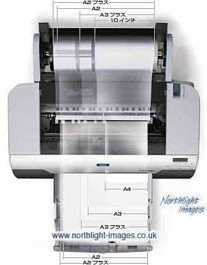 Epson 4000 paper sizes