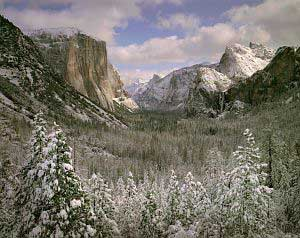 'Clearing Winter Storm' in Yosemite Valley. Photograph © Joseph Holmes