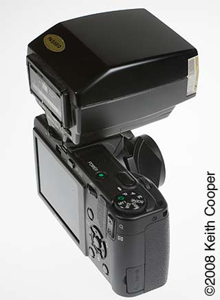 gx200 with external flash