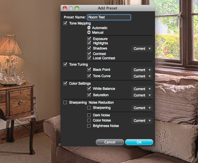 creating your own presets
