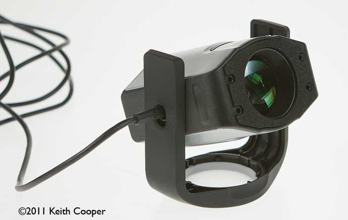 i1 display sensor lens