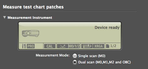 device measurement modes