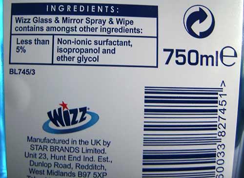 Wizz inkjet cleaner