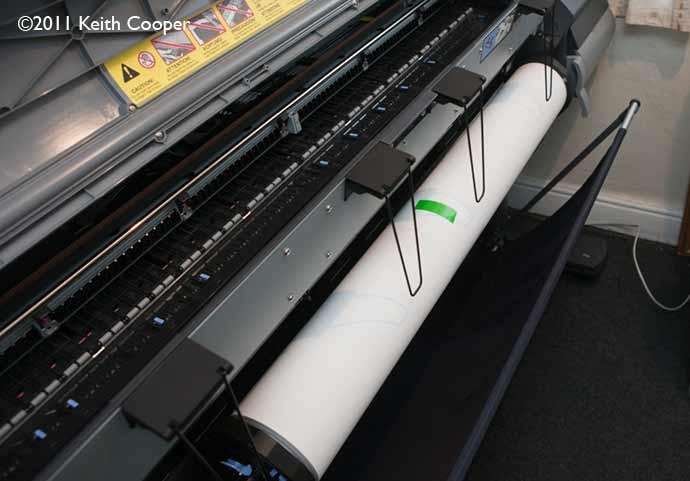 roll of innova ifa13 textured paper