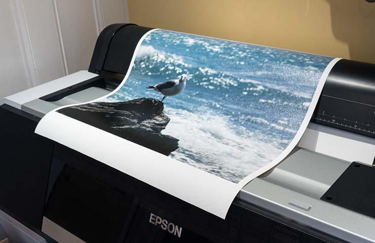 glossy canvas print