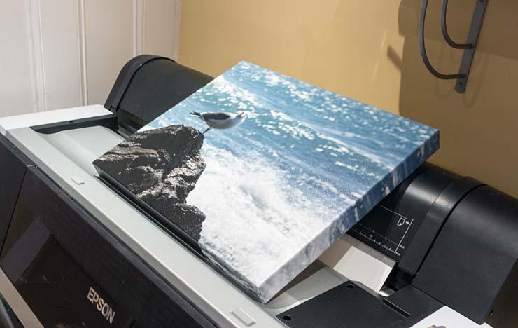 framed canvas print using innova ifa56 canvas