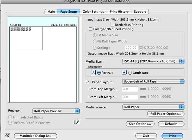 printing 51 step linnearising target