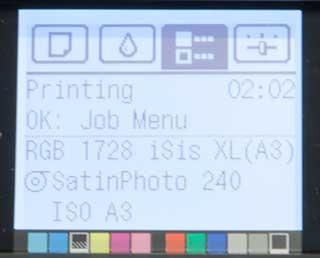 job info A3 print