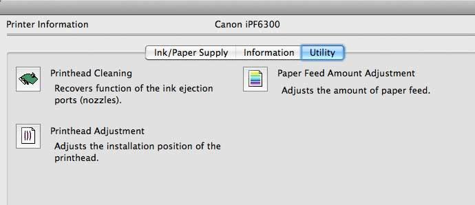 printer driver utilities