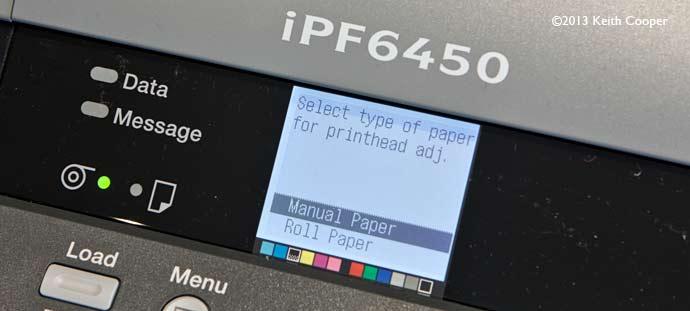 set paper type