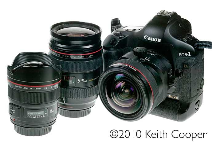 Canon 1ds3, TSE17, EF14, EF 24-70mm