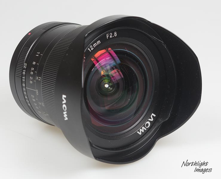 laowa 12mm lens front