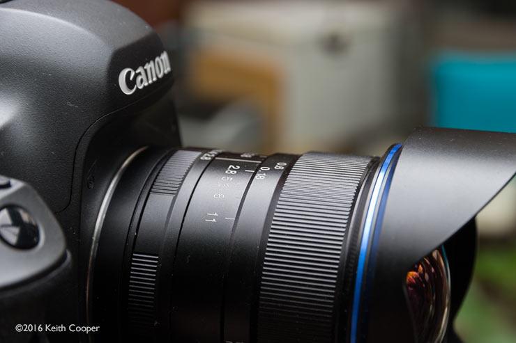 lens focus marks
