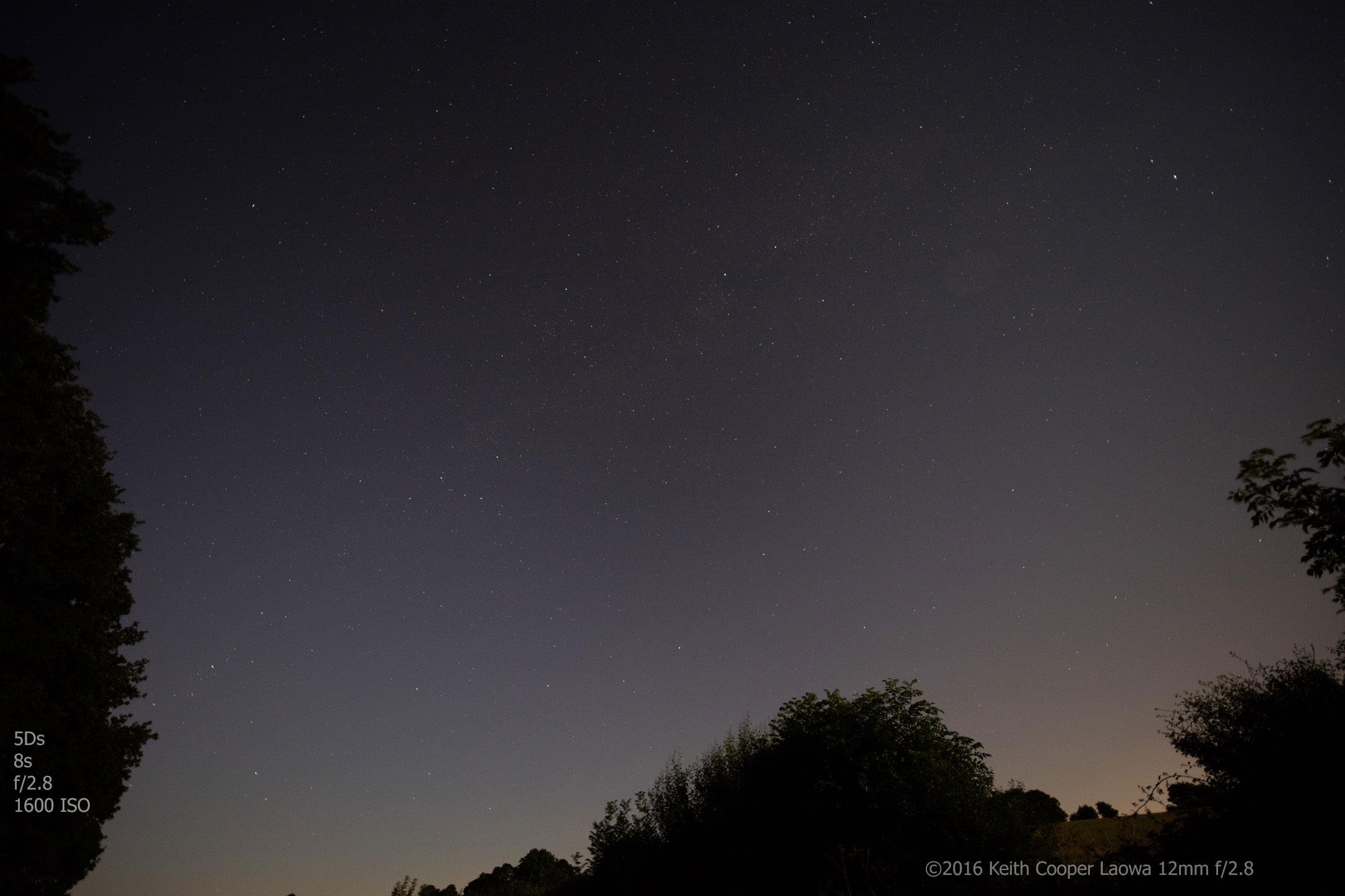 stars - view of the night sky