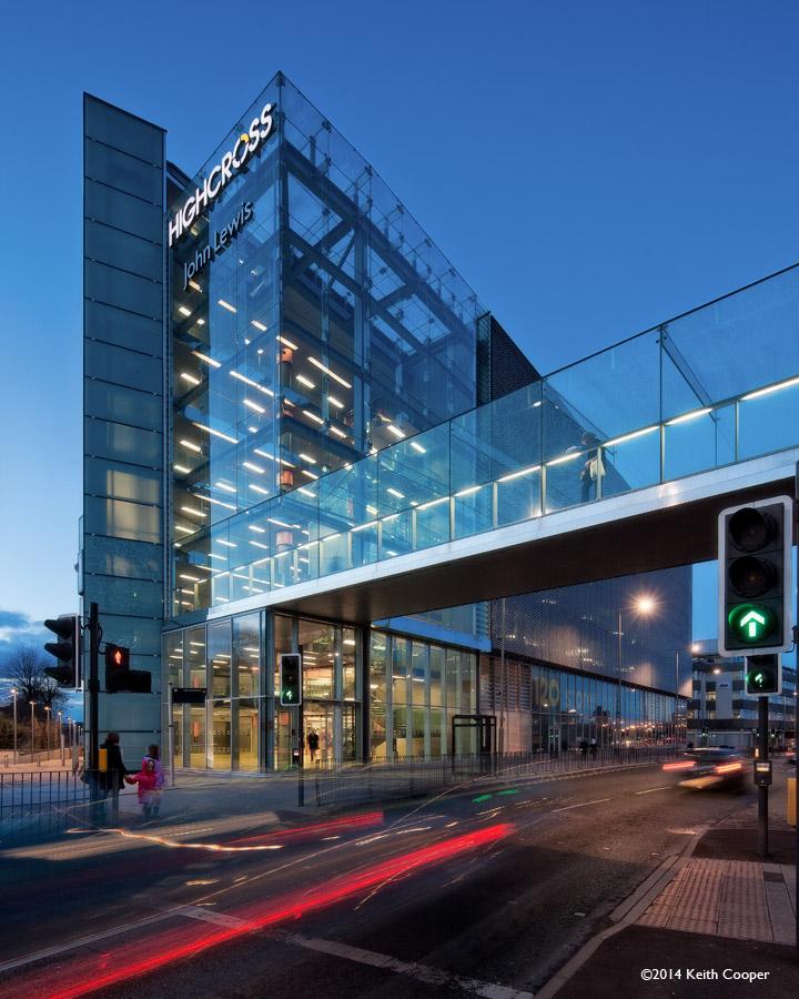 highcross car park building, Leicester