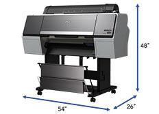 Epson sc-p7000 external dimensions