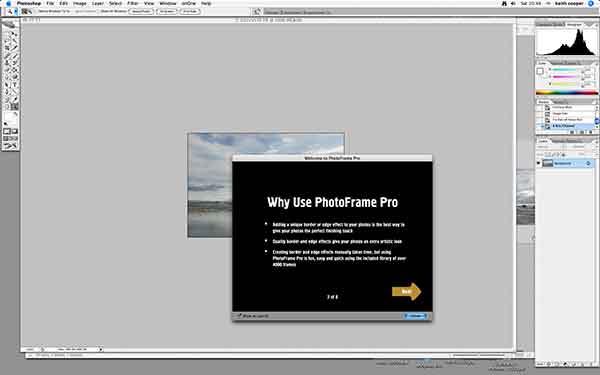 opening photoframe Pro