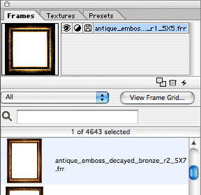 choosing a frame