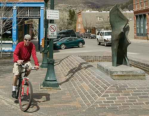 biking prohibited