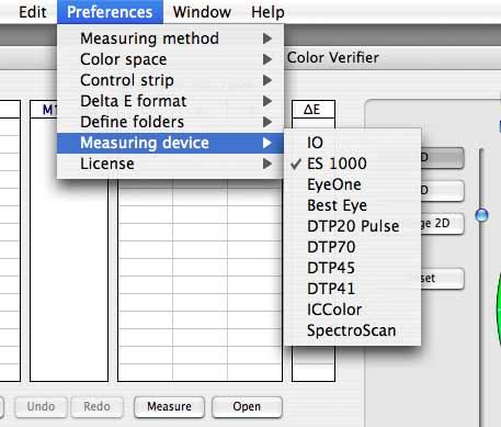 EFI verifier measurement devices