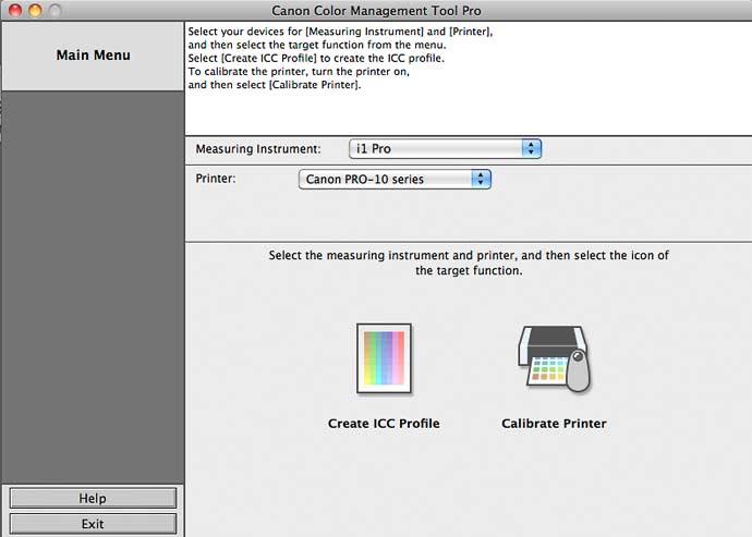 canon color management tool pro