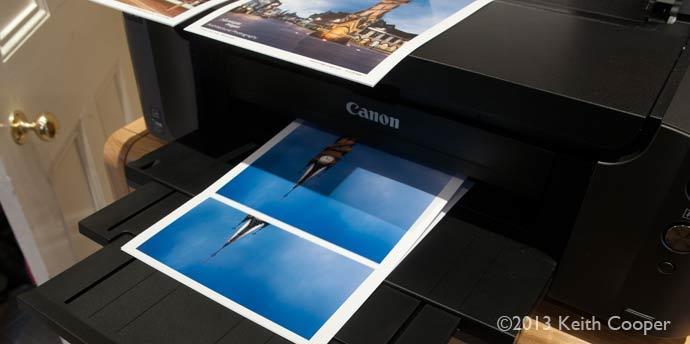 printing multiple A4 prints