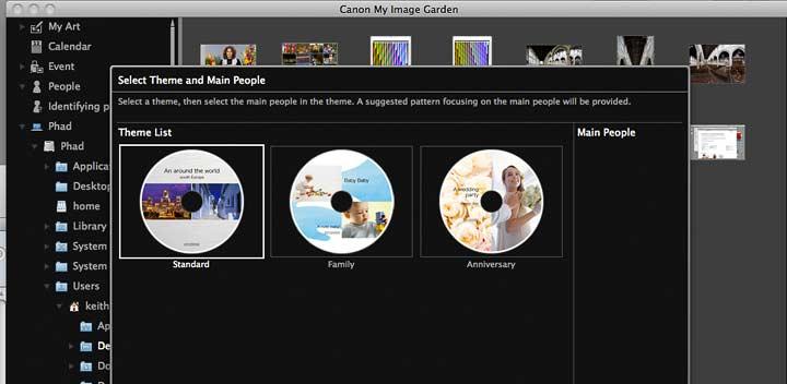print layout - CD
