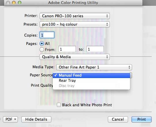 adobe printing utility