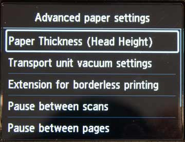 Advanced paper types