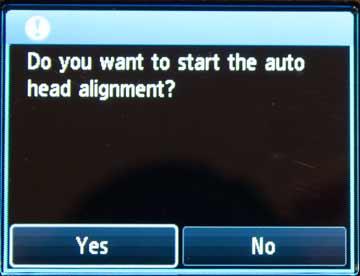 head alignment
