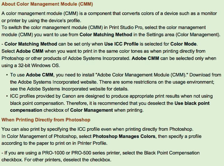 Adobe CMM module information