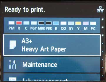 printer ready to print