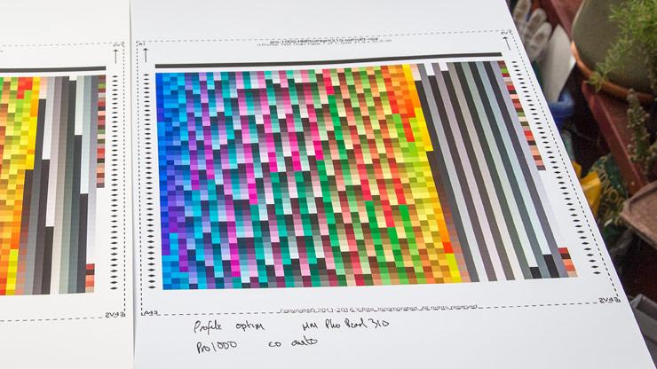 profile optimisation prints