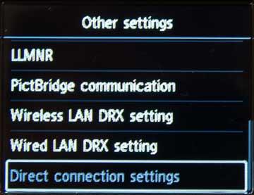 Lan detailed settings